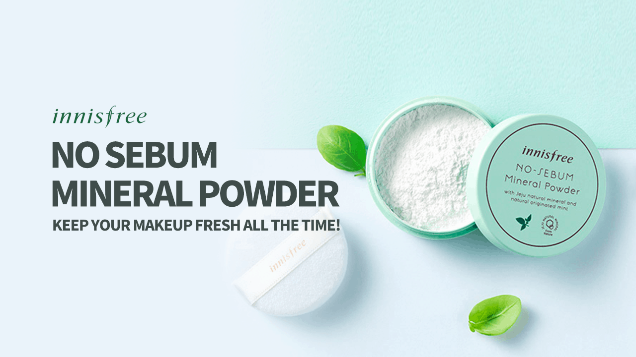 INNISFREE No-Sebum Mineral Powder- 5g - Original Korean Products | Korean  skin care products in Bangladesh.