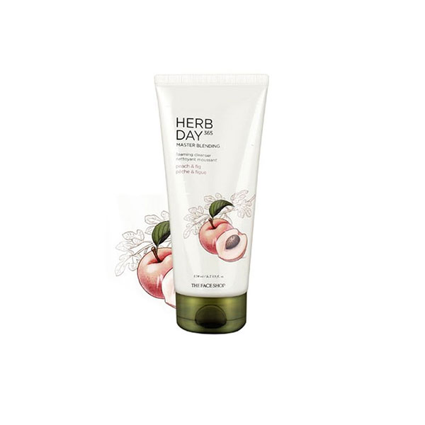 Herb Day 365 Master Blending Foaming Cleanser Peach & Fig
