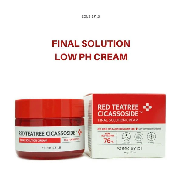 Red Tea Tree Cicassoside Derma Solution Cream