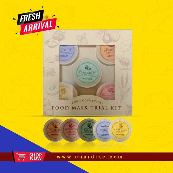 food mask trail kit
