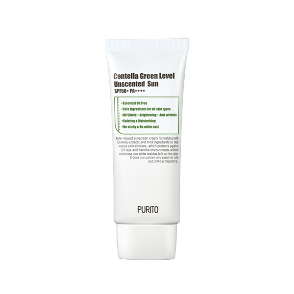 Purito Centella Green Level Unscented Sun SPF50 PA