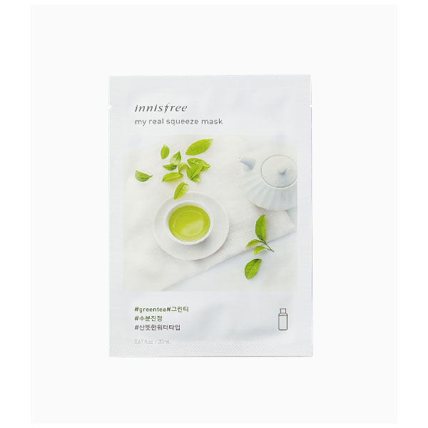 My Real Squeeze Mask EX [Green Tea]