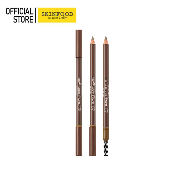 choco Powder Brow Wood Pencil 01 Light Brown
